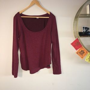 BDG urban outfitters red sweater